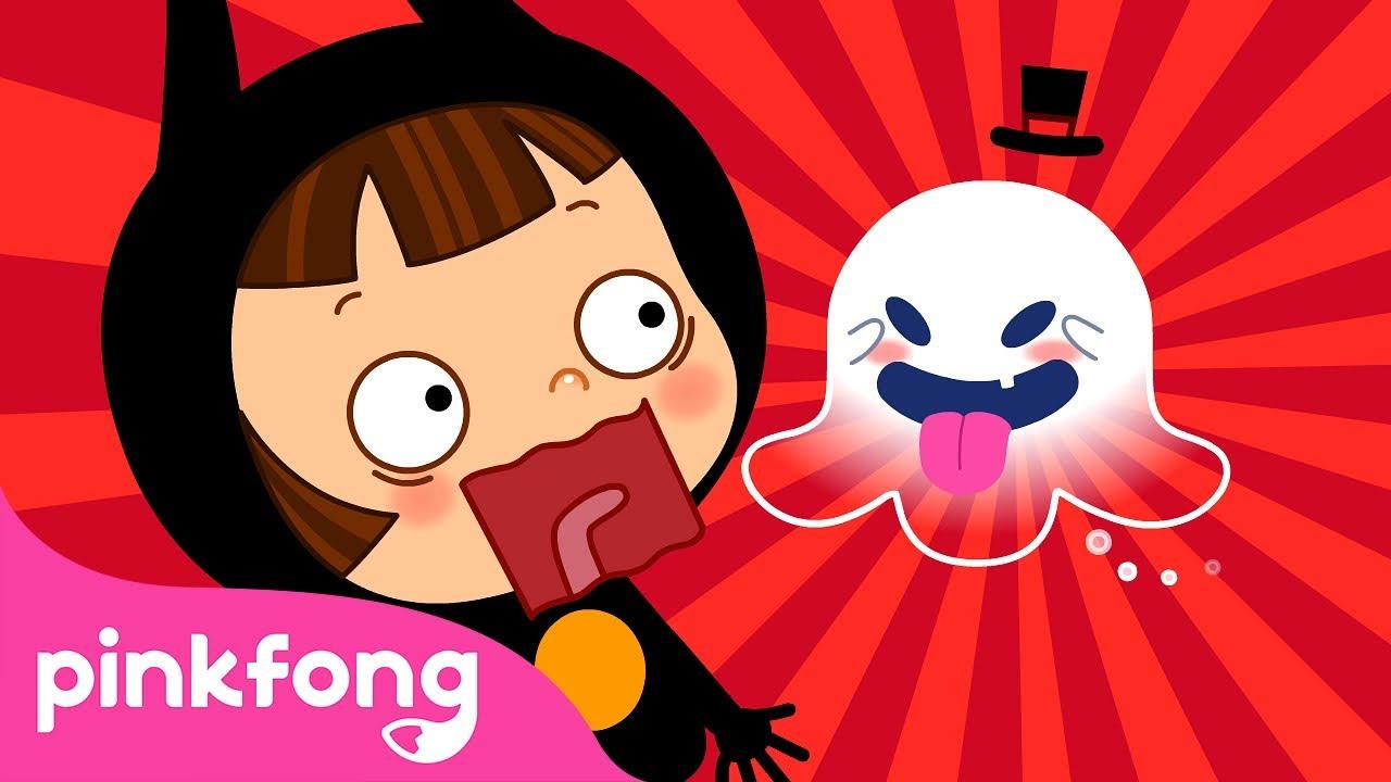 Boo! 👻 Si Hantu Kecil | Lagu Halloween 2021 | Kartun Anak | Pinkfong & Baby Shark