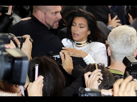 [FULL]Kim Kardashian Attacked by Vitalii Sediuk Paris Fashion Week[Scandal]