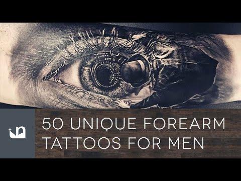 50 Unique Forearm Tattoos For Men
