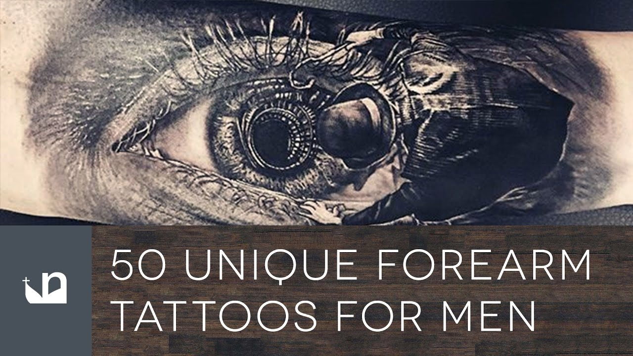 50 Unique Forearm Tattoos For Men - YouTube