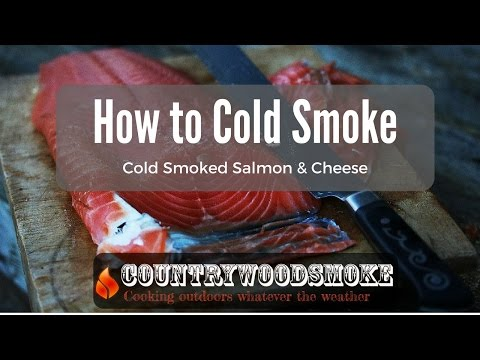 How To Cold Smoke - Cold Smoking Salmon And Cheese