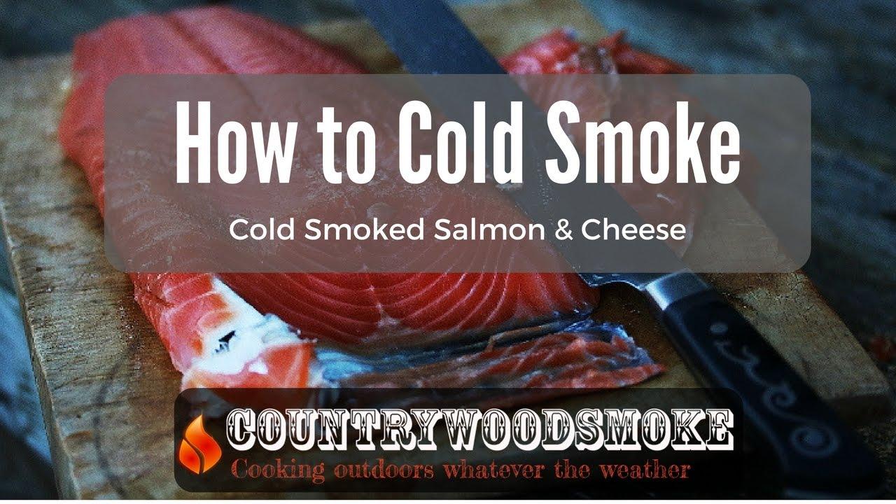 How To Cold Smoke  Cold Smoking Salmon And Cheese