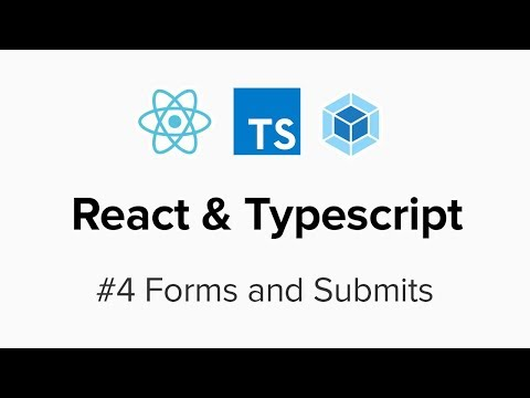 React & Typescript - #4 Forms and Submits - YouTube