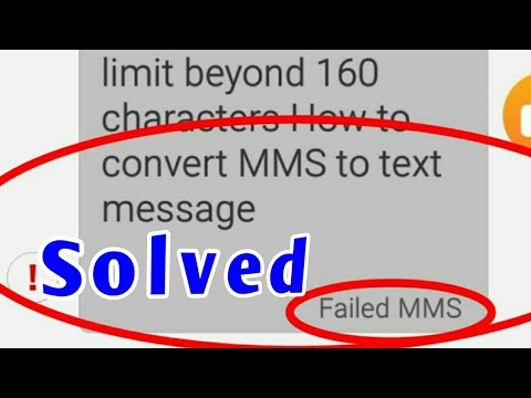 How to stop converting MMS to Text message | increase limit more than 160 characters |digitips