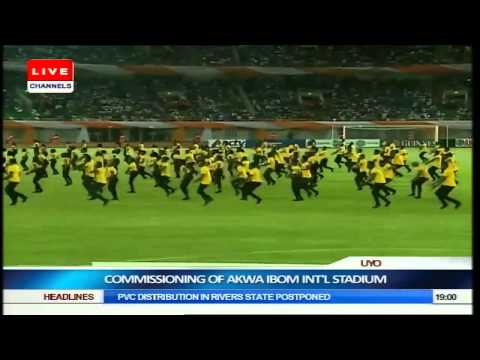 The Mavins Perform 'Dorobucci' at Akwa Ibom Stadium Opening