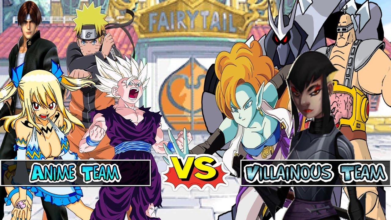 Naruto and gohan