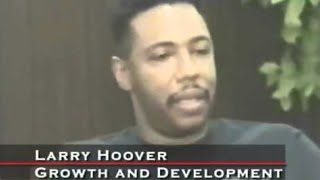 LARRY HOOVER IS SOMEONE THE GOVERNMENT KEEPS IN CAPTIVITY BECAUSE OF HIS INTELLIGENCE AND POSITIVITY