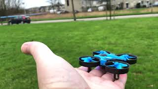 Mini #Drone from WISH - JJRC H36 -  2.4GHz 4CH 6 Axis Gyro RC #Quadcopter Drones Unboxing 1st Flight