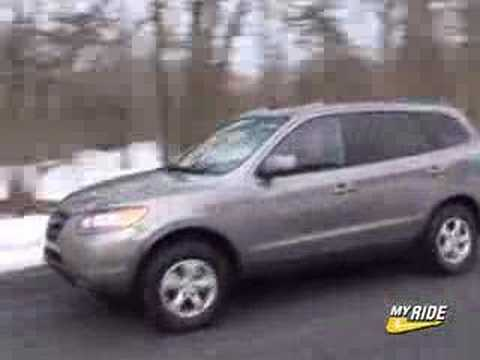 Review: 2007 Hyundai Santa Fe   YouTube