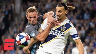 Zlatan Ibrahimovic and LA Galaxy beat Minnesota FC to advance | MLS Highlights
