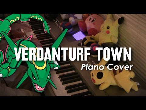 Verdanturf Town - Pokémon RSE - Piano Cover