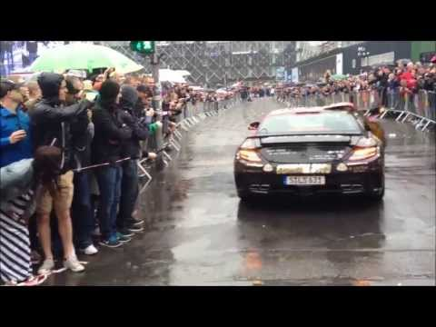 The start of the 2013 Gumball 3000 Rally in Copenhagen