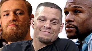 Floyd Mayweather Hiring Nate Diaz to Get Back at Conor McGregor!?