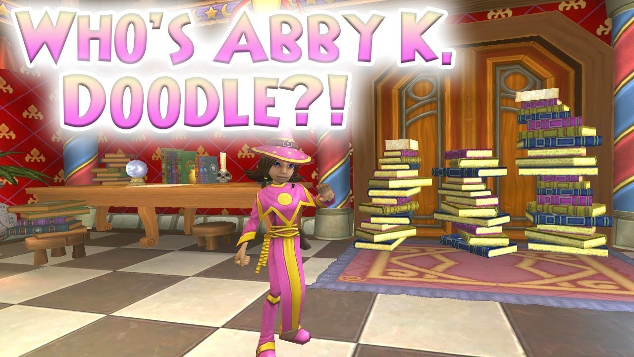 Wizard101 Whos Abby K Doodle