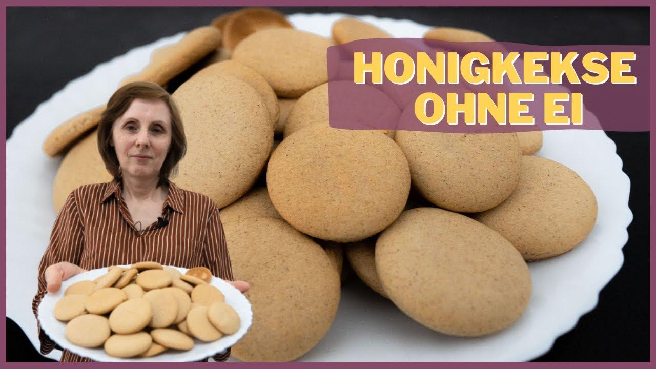 Honigkekse ohne Ei - Mit wenigen Zutaten & Kinderleicht
