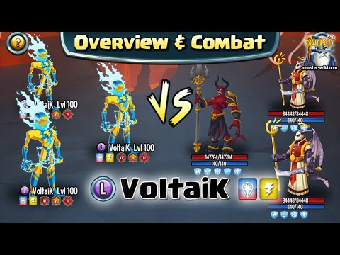VoltaiK [Legend, Thunder] - Review & Combat - Monster Legends