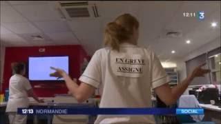 Tension aux urgences du CHU de Rouen