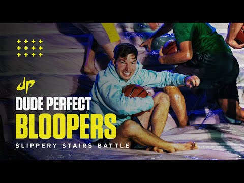 Longest Dunk Wins (Bloopers & Behind The Scenes) - Dude Perfect Plus