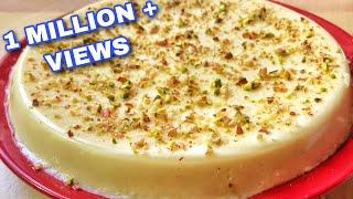 How To Make Milk Pudding  Eggless No Bake Milk Pudding Recipe