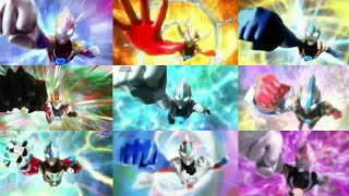 ALL FUSION ULTRAMAN ORB IN SERIES