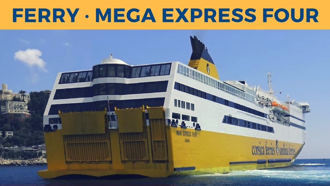 arrival of ferry mega express four in nice corsica sardinia ferries youtube. Black Bedroom Furniture Sets. Home Design Ideas