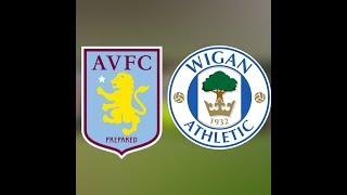 Aston Villa vs Wigan Athletic (3:2) Round 2