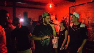 P.A.D - Stau pe loc ft. Gobl!ns ( live Roata Bar Moreni )