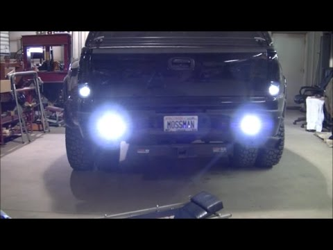 Darth Dually Jdm Astar Led Backup Bulbs And Pods In Rear
