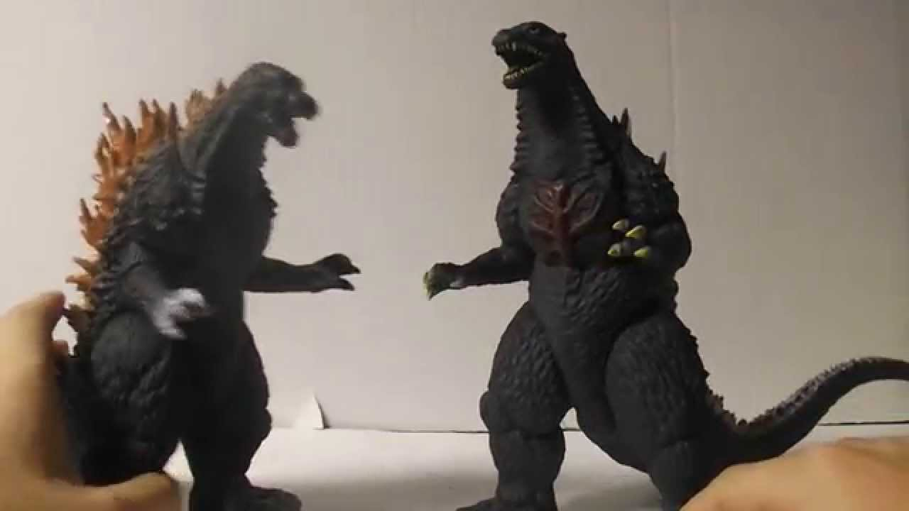 Banpresto Godzilla 2003 toy review - YouTube