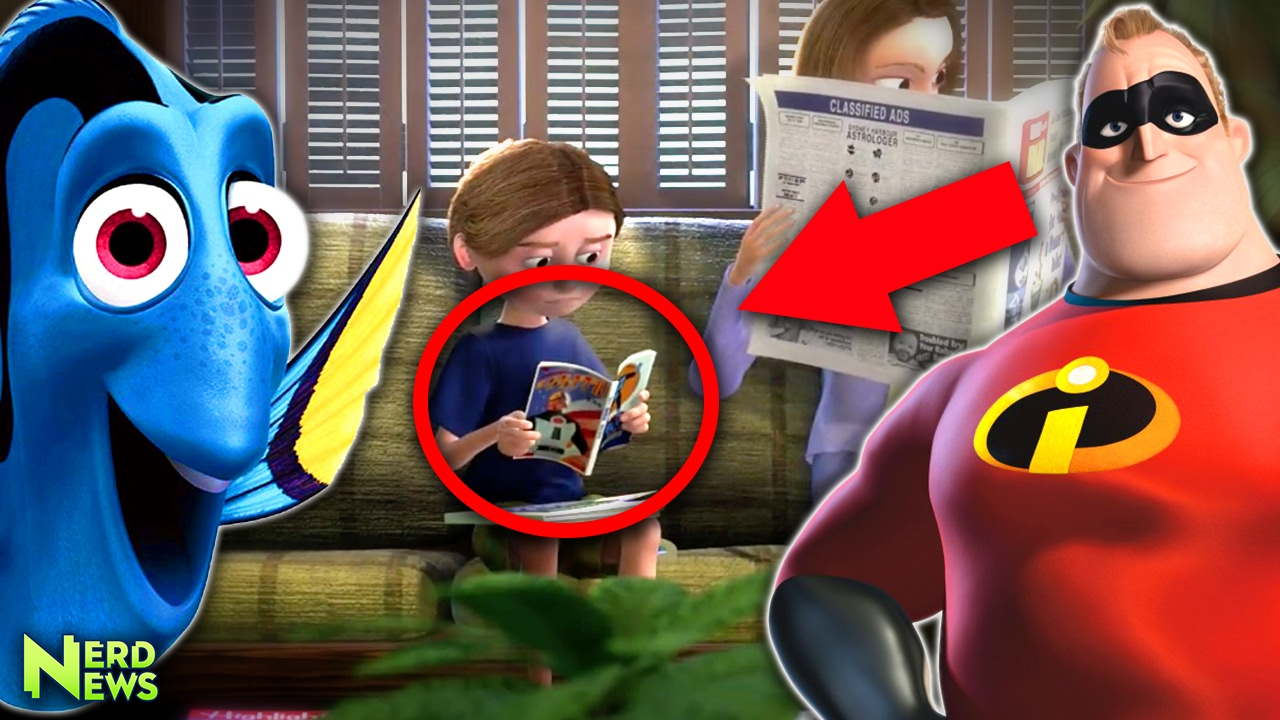 Disney CONFIRMED Pixar Same Universe Theory Connections Explained - Pixar movies connected