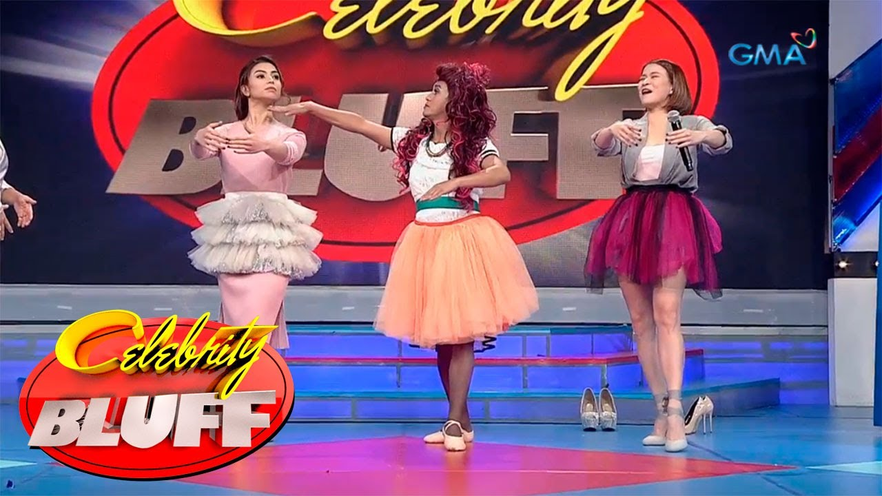 'Celebrity Bluff' Outtakes: Ballet dancing 101 with Boobay, Glaiza de Castro and LJ Reyes
