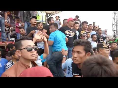 Pallapa ricuh parah. 1 orang dipukuli TENTARA-POLISI (Sedan - Gandri)