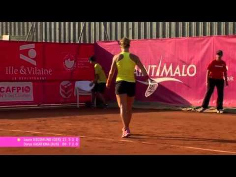 ITF 50k Saint-Malo 2015 / Final / Kasatkina v Siegemund