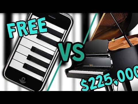 FREE PIANO VS $225,000 PIANO