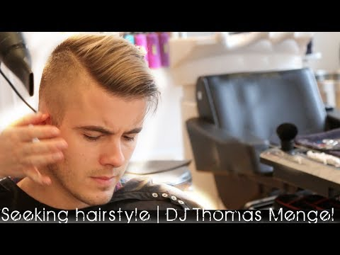 Dj Hairstyle Undercut Dj Thomas Mengel Seeking Youtube