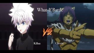 HxH What-If Battle KILLUA VS CHEETU (CHIMERA ANT) DISCUSSION