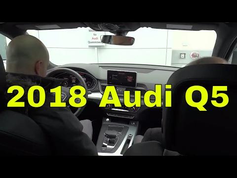 2018 Audi Q5 S Line-Test Drive