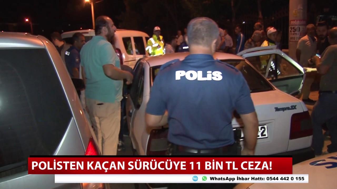 Konya'da polisin dur ihtarına uymayan sürücü yakalandı! İşte kesilen ceza