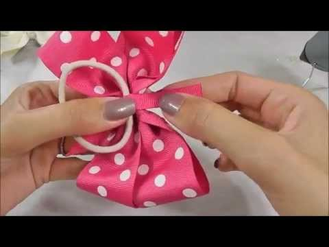 make hair bows pinwheel