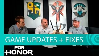 For Honor - Warriors Den Livestream: Game Update, Balance Changes, Patch Notes April 6th