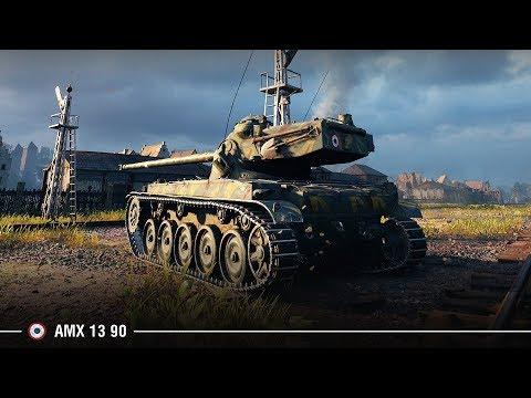 AMX 13 90 бьется за Химмельсдорф | Боевая медаль Фадина