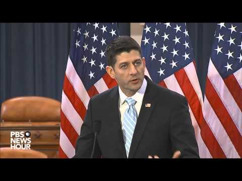 Speaker Ryan discusses the state of politics