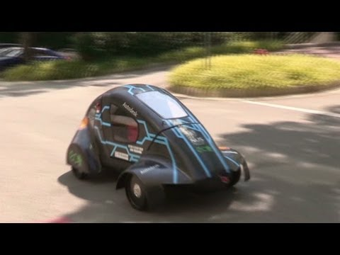 Sutdents build the ultimate fuel-efficient car