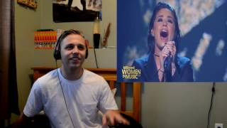 Demi lovato - 'stone cold' live at billboard awards (reaction)