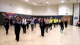 Wellness at TSC/TCC X'mas- Zhan zai cao yuan wang Beijing健樂在康山-站在草原望北京。 Dec 5 2015