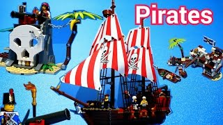 Lego Pirates  레고 해적 2015 :  70409 - 70413 (all) Time Lapse Build