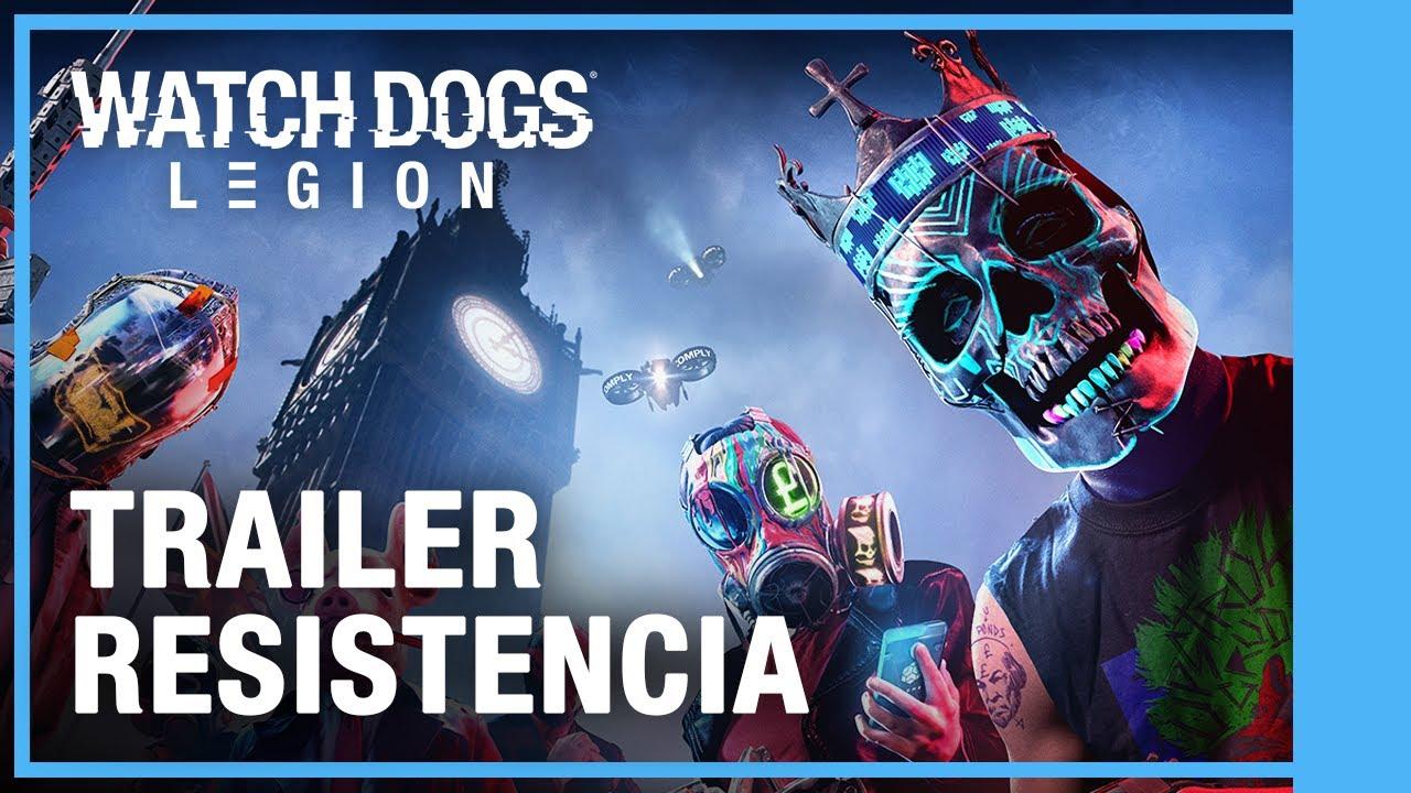 Watch Dogs: Legion - Resistencia Tráiler