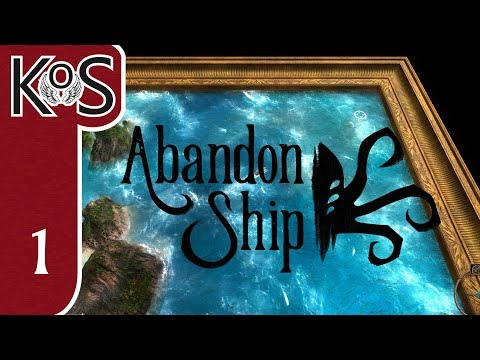 Abandon Ship Ep 1: ESCAPING THE CULTISTS! - Early Access - Let's Play, Gameplay
