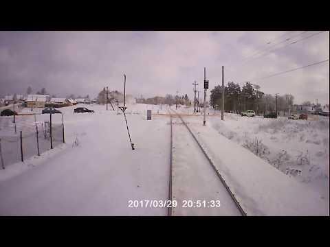 Клинцы - вид с поезда . Брянская область
