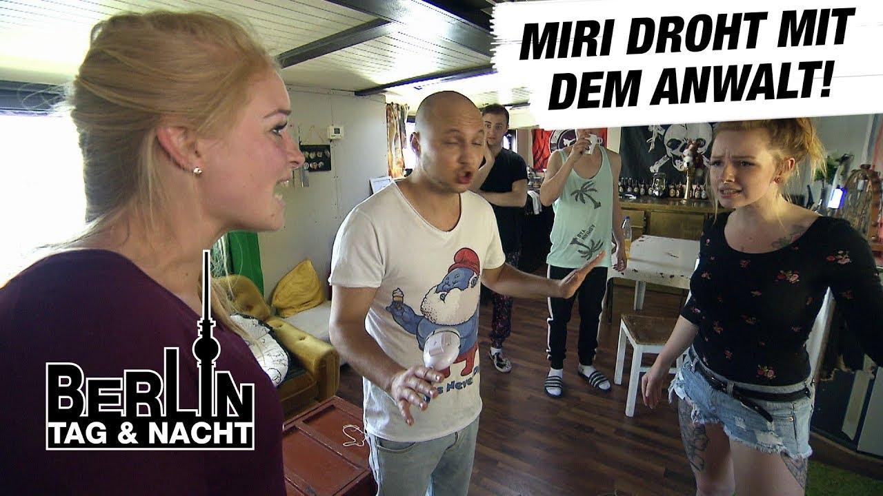 Berlin Tag Nacht Der Streit Zwischen Emmi Miri Eskaliert